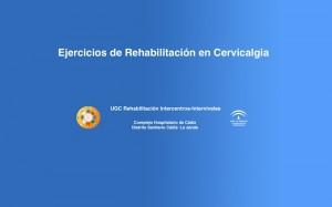 Ejercicios básicos de Rehabilitación en la Cervicalgia